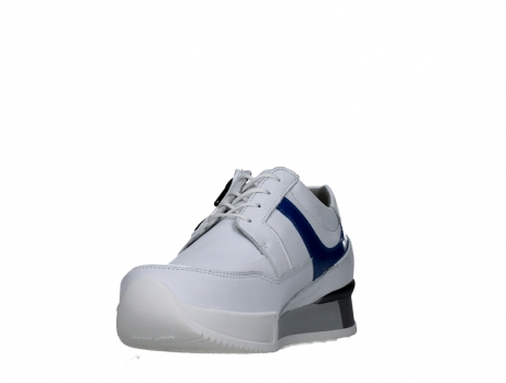 wolky lace up shoes 05882 field 20184 white jeans leather_9