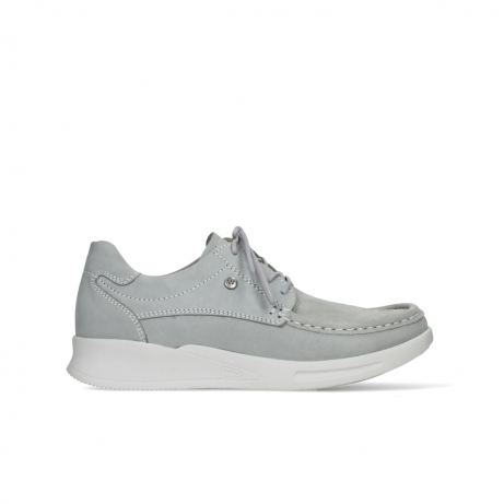 wolky lace up shoes 05901 one 10206 light grey stretch nubuck