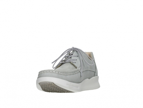 wolky lace up shoes 05901 one 10206 light grey stretch nubuck_9