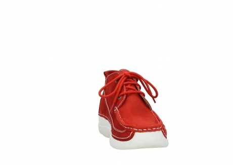 wolky lace up shoes 06200 roll moc 11570 red nubuck_18