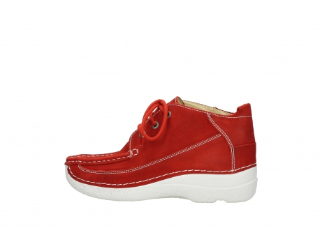 wolky lace up shoes 06200 roll moc 11570 red nubuck_2