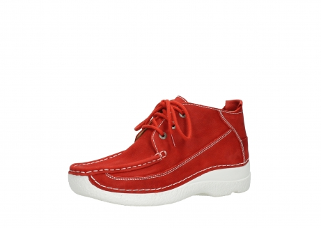 wolky lace up shoes 06200 roll moc 11570 red nubuck_23