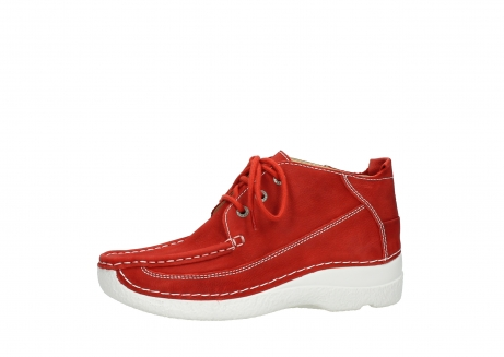 wolky lace up shoes 06200 roll moc 11570 red nubuck_24