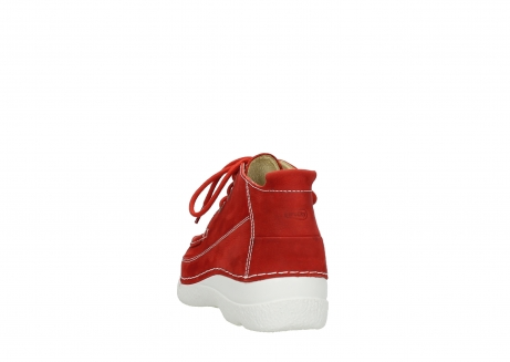 wolky lace up shoes 06200 roll moc 11570 red nubuck_6