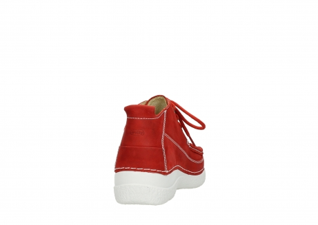 wolky lace up shoes 06200 roll moc 11570 red nubuck_8