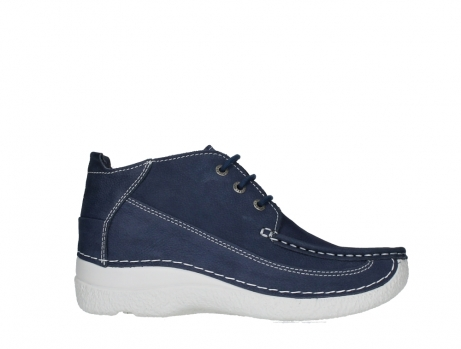 wolky lace up shoes 06200 roll moc 11820 denimblue nubuck_1