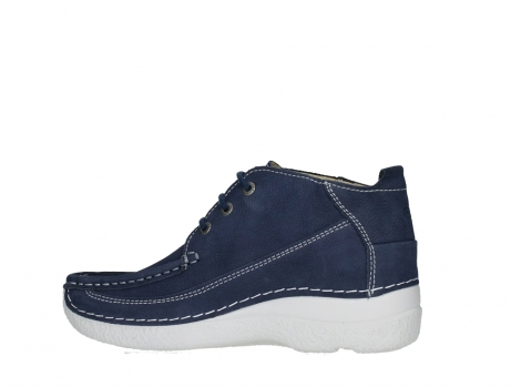 wolky lace up shoes 06200 roll moc 11820 denimblue nubuck_14