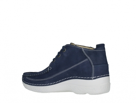 wolky lace up shoes 06200 roll moc 11820 denimblue nubuck_15