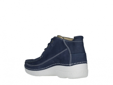 wolky lace up shoes 06200 roll moc 11820 denimblue nubuck_16