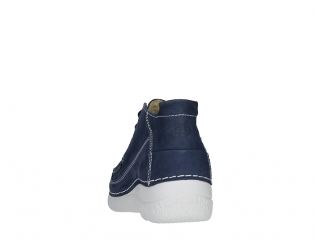wolky lace up shoes 06200 roll moc 11820 denimblue nubuck_18