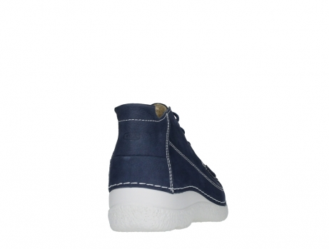 wolky lace up shoes 06200 roll moc 11820 denimblue nubuck_20