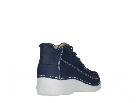 wolky lace up shoes 06200 roll moc 11820 denimblue nubuck_21
