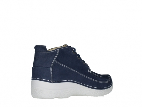 wolky lace up shoes 06200 roll moc 11820 denimblue nubuck_22