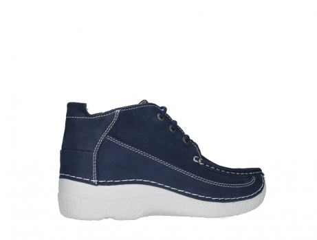 wolky lace up shoes 06200 roll moc 11820 denimblue nubuck_23