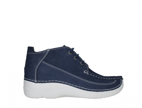 wolky lace up shoes 06200 roll moc 11820 denimblue nubuck_24
