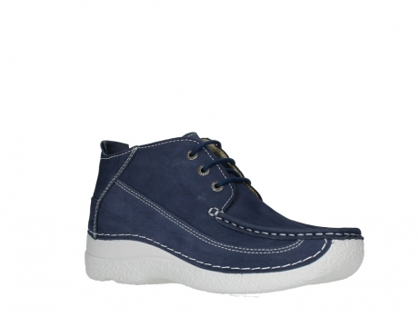 wolky lace up shoes 06200 roll moc 11820 denimblue nubuck_3