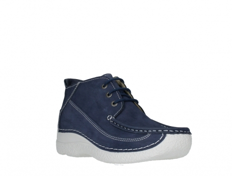 wolky lace up shoes 06200 roll moc 11820 denimblue nubuck_4