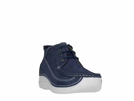 wolky lace up shoes 06200 roll moc 11820 denimblue nubuck_5