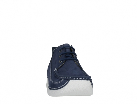 wolky lace up shoes 06200 roll moc 11820 denimblue nubuck_6