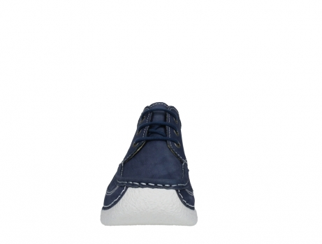 wolky lace up shoes 06200 roll moc 11820 denimblue nubuck_7