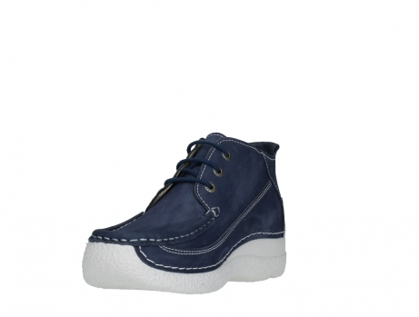 wolky lace up shoes 06200 roll moc 11820 denimblue nubuck_9