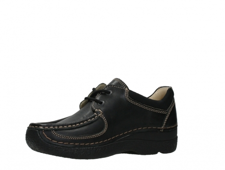 wolky lace up shoes 06216 roll shoe 30000 black leather_11