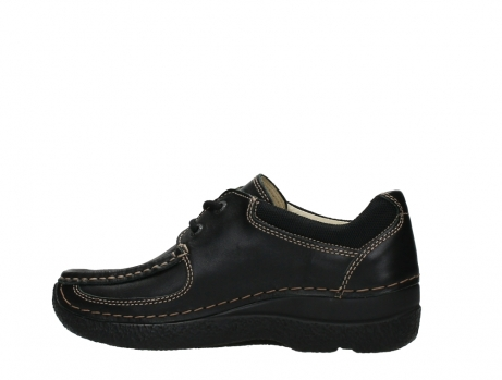 wolky lace up shoes 06216 roll shoe 30000 black leather_14
