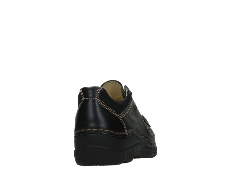 wolky lace up shoes 06216 roll shoe 30000 black leather_20