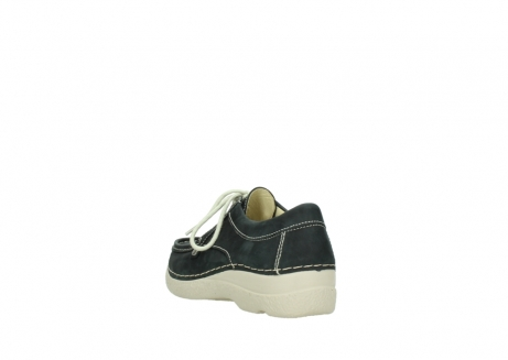 wolky lace up shoes 06286 seamy stroll 10070 black nubuck_5