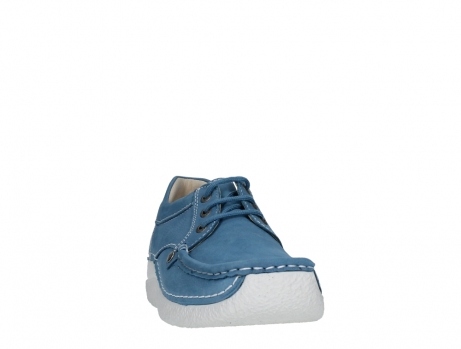 wolky lace up shoes 06289 seamy up 11856 baltic blue nubuck_6