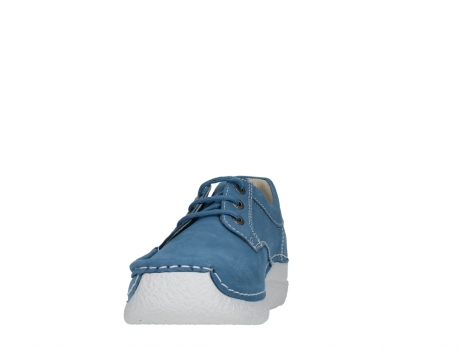 wolky lace up shoes 06289 seamy up 11856 baltic blue nubuck_8