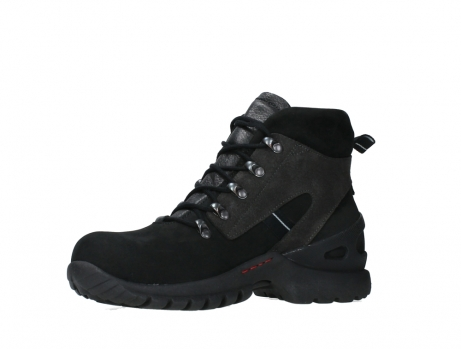 wolky lace up boots 06505 traction 16000 black nubuck_11