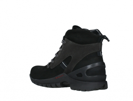 wolky lace up boots 06505 traction 16000 black nubuck_16