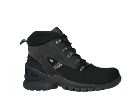 wolky lace up boots 06505 traction 16000 black nubuck_2