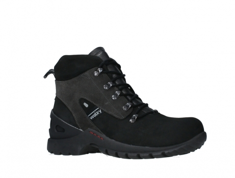 wolky lace up boots 06505 traction 16000 black nubuck_3