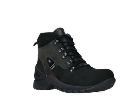 wolky lace up boots 06505 traction 16000 black nubuck_4
