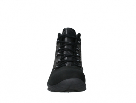 wolky lace up boots 06505 traction 16000 black nubuck_7