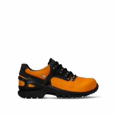 wolky lace up shoes 06506 grip wp 16925 dark ocher nubuck
