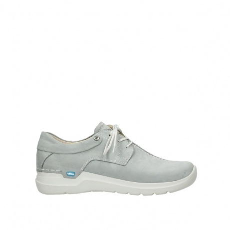 wolky lace up shoes 06603 wasco 11206 light grey nubuck
