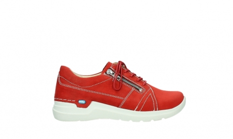 wolky lace up shoes 06609 feltwell 11570 red nubuck_1