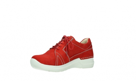 wolky lace up shoes 06609 feltwell 11570 red nubuck_10