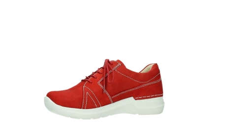 wolky lace up shoes 06609 feltwell 11570 red nubuck_11