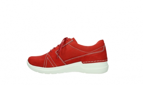 wolky lace up shoes 06609 feltwell 11570 red nubuck_13