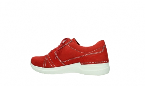 wolky lace up shoes 06609 feltwell 11570 red nubuck_14