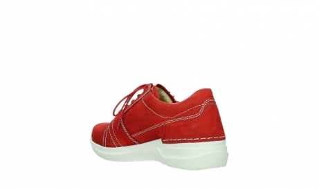 wolky lace up shoes 06609 feltwell 11570 red nubuck_16