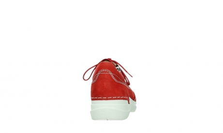 wolky lace up shoes 06609 feltwell 11570 red nubuck_19