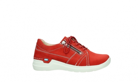 wolky lace up shoes 06609 feltwell 11570 red nubuck_2