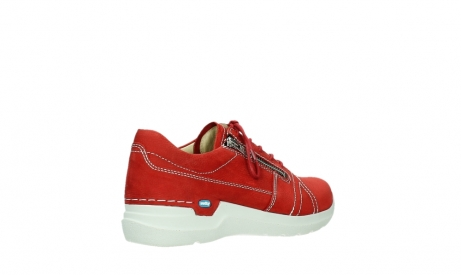 wolky lace up shoes 06609 feltwell 11570 red nubuck_22