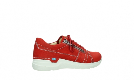 wolky lace up shoes 06609 feltwell 11570 red nubuck_23