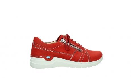 wolky lace up shoes 06609 feltwell 11570 red nubuck_24